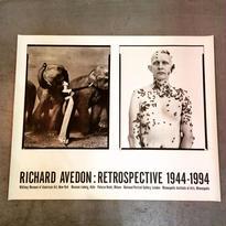 "RICHARD AVEDON:RETROSPECTIVE 1944-1994 ""Dovima"" and ""Beekeeper"""
