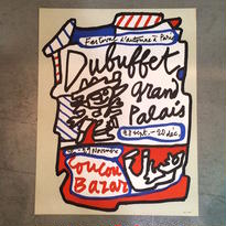 JEAN DUBUFFET:Dubuffet Grand Palais