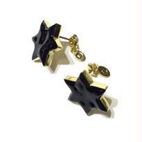 六角星のピアス / S / 3色