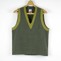 TIB_41 FRANK LEDER Roughed Up Linen Vest