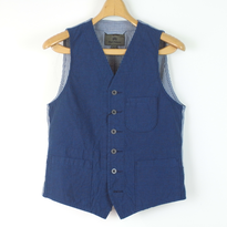 IND_30 Nigel Cabourn MALLORY VEST