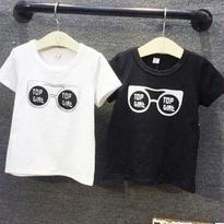 サングラス Tシャツ 半袖 //2color (80㎝~120㎝)