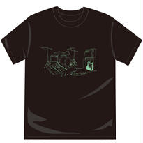 2ピースTシャツ(ブラック)[オンライン限定]