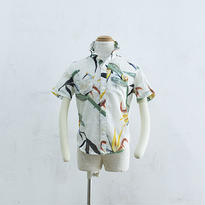 Harf  sleeve shirts 'palinkA × two eleven  コットンアロハシャツ(120cm)