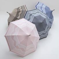 パゴダ型のレース調の傘 50cm/長傘 晴雨兼用 [OSC036 BL/BE/P/N]