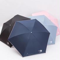 【晴雨兼用】渋谷待犬(しぶやまちけん)折りたたみ傘 (全4色) [NK7/BL/NE/SA/PI]