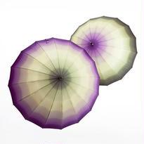 グラデーションの傘(パープル系) 55cm/長傘 [OST122PA/PB]