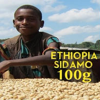 【SPECIALTY COFFEE】100g Ethiopia Sidamo G2 1.850-2.000m Fully Washed / エチオピア シダモ G2 フリーウォッシュト