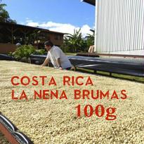 【SPECIALTY COFFEE】100g Costa Rica La Nena Brumas 1.350m Red Honey/ コスタリカ ラ・ネナ農園 ブルマスミル レッドハニープロセス
