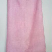 サロンスカート ピンク小花