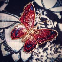 Brooch  蝶ブローチ