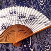 Fan  水辺は燕子花