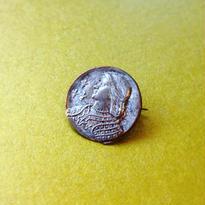 Vintage Brooch「ジャンヌダルクの横顔」