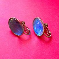 Vintage Earring「モルフォ蝶の羽」