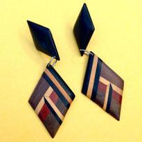 Vintage Pierce「寄木細工の菱形」