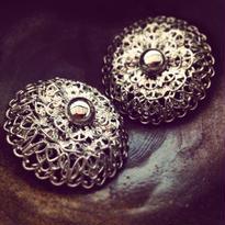 Vintage Earring ポンポン咲き