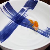 【有田焼】クロス刷毛目ボウル~「どんぶり金魚」オススメ・最適どんぶり~