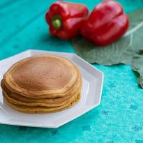 ボンヌ ファリーヌ / 全粒粉のパンケーキ すこやか野菜 ケールとパプリカ