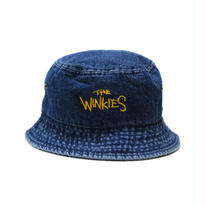 WINKIES DENIM BUCKET HAT (DARK DENIM/YELLOW)