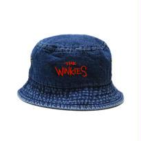 WINKIES DENIM BUCKET HAT (DARK DENIM/RED)
