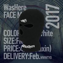WasHere FACE MASK