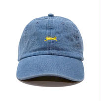 WWWCAT DENIM LOGO CAP (LIGHT BLUE)
