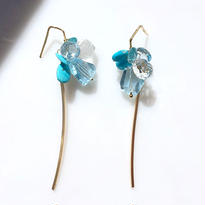 In the water -Blue topaz,Turquoise