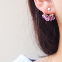 Pink Sapphire BijouP 片耳売り