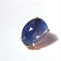 1点もの■Blue Sapphire P 片耳ピアス