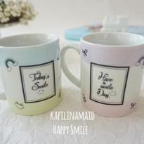【kapilinamaid 転写紙】Happy Smile