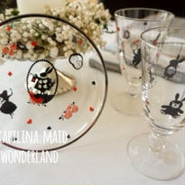 【kapilina.maid 転写紙】Wonderland〜ALICE(ガラス用)