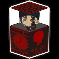 名探偵コナン キャラ箱クッション 赤井秀一 「後ろ・・・、8時の方向」ver. JAN:4573358450187
