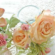 アレンジメント花器 ☆花瓶【シャビーカラー】