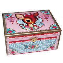 UK発☆Wu&Wu☆キッチュな鹿のジュエリーボックス Jewelry Case