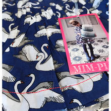 Mim-Pi(ミンピ)スワン柄スカート ジュニアサイズ swan print skirt