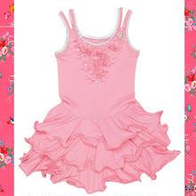 Mim-Pi(ミンピ)☆ピンクの花びらたっぷりのワイヤー入りワンピース