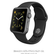 一日特価apple watch sport 42mm black