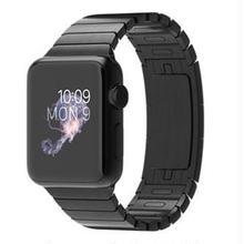 大特価Apple Watch アップル ウォッチ スペースブラックステンレススチールケース スペースブラックリンクブレスレット 42mm
