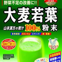 山本漢方 大麦若葉粉末100% 徳用 3g*44包 200個