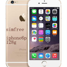 【国内版SIMフリー】 iPhone 6 Plus 128GB ゴールド 白ロム Apple 5.5インチ