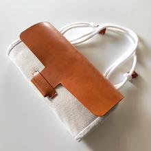 【1点物】abicaseDUCK Wallet?Bag?  ダック&レザー