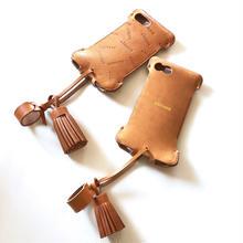 【限定品】タッセル付きabicase8WJ(iPhone8用)ウォレットジャケット