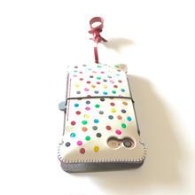左フリック用【abicase flap】 手帳型iPhone7ジャケット
