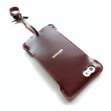 【バーガンディコードバン製】iPhone 6s ns cwj cordovan ウォレットジャケット