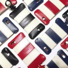 【ラスト1点】iPhone 6s cwj stripe ウォレットジャケット赤白