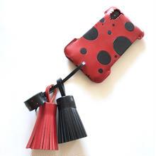 【Le Rouge et le Noir】abicaseXSJ/iPhoneX用スペシャルジャケット/赤と黒