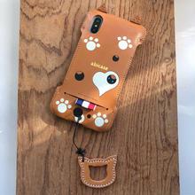 【1点物】abicaseXRWJ/iPhoneX用 猫ジャケット