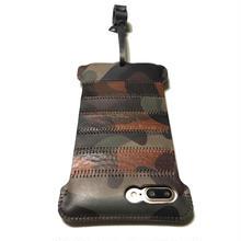 1点物【abicasePro】iPhone8Plus  sj  カモフラボーダー