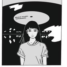 "tofubeats × kyne × ABOUT MUSIC ""Fantasy Girl T-Shirts"""