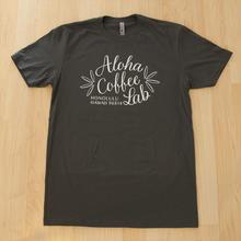 日本初上陸★アロハコーヒーラボ オリジナルTシャツ  (ブラック)Made in Hawaii